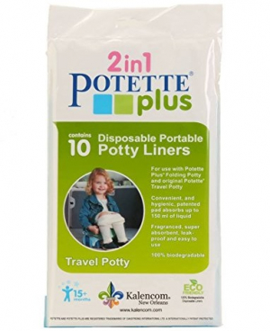 Potette Plus Engangsposer 10-pack