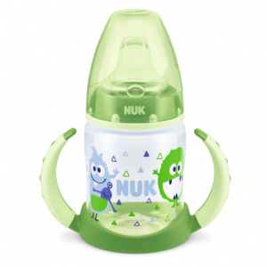 NUK First Choice Learner Bottle TPE 150 ml, Grønn