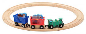 Melissa & Doug Togsett Zoo Animal Train