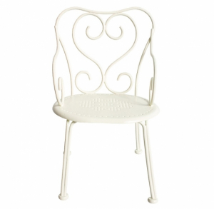 Maileg Mini Romantic Chair Off White