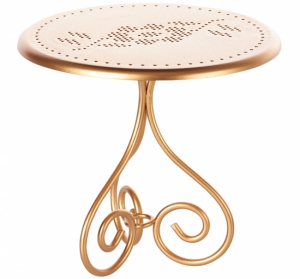 Maileg Mini Coffee Table Gold