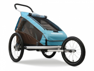 Croozer Kid Plus 1 - 2015 Sylomer® fjæring