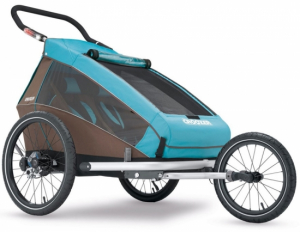 Croozer Kid Plus 2 - 2017 Sylomer® fjæring