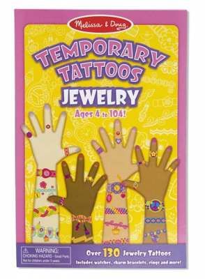Melissa & Doug My First Temporary Tattoos Smykker