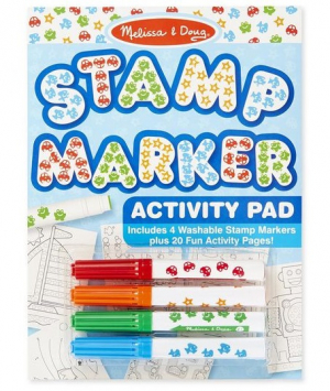 Melissa & Doug Stamp Markers & Activity Pad