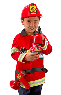 Melissa & Doug Fire Chief Utkledning