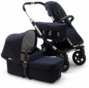 Bugaboo Donkey2 Mono Komplett, Classic Collection, Alu/Dark Navy