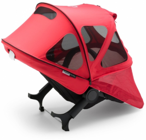 Bugaboo Donkey Breezy Sun Canopy Neon Red