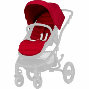 Britax Affinity 2 Colour Pack Flame Red