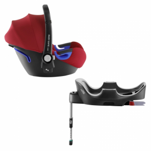 Britax Baby-Safe i-Size Flame Red, inkl i-Size Flex Base