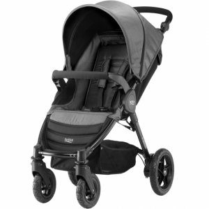 Britax B-Motion 4 Black Denim inkl fottrekk