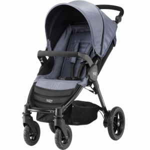 Britax B-Motion 4 Blue Denim inkl fottrekk