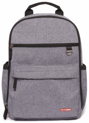 Skip Hop Duo Signature Stelleveske & Ryggsekk Heather Grey