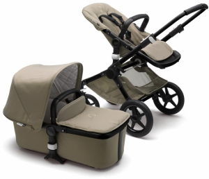Bugaboo Fox Komplett Classic Collection, Black/Khaki