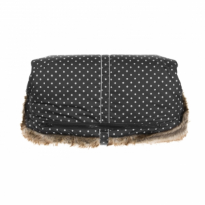 Vinter & Bloom Håndtaksmuff Mini Dots Ebony Black