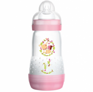 MAM Tåteflaske Easy Start Anti-Kolikk 260 ml Rosa