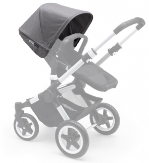 Bugaboo Buffalo Extension Canopy Grey Melange