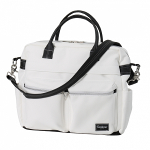 Emmaljunga 2020 Stelleveske Travel Leatherette White