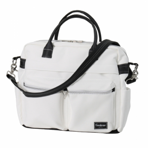 Emmaljunga 2021 Stelleveske Travel Leatherette White