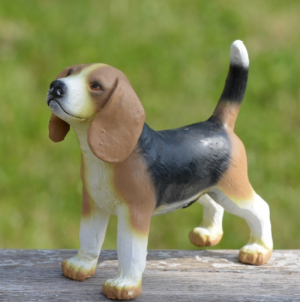 Green Rubber Toys Beagle