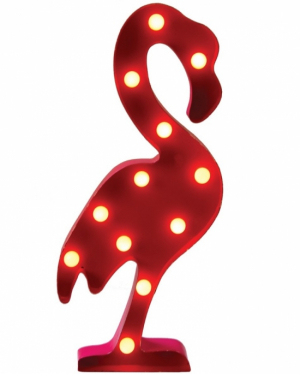 Sass & Belle LED-lampe Flamingo