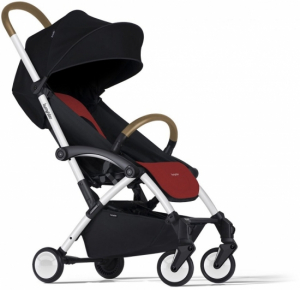Bumprider Connect Black & Red, Hvitt Chassi