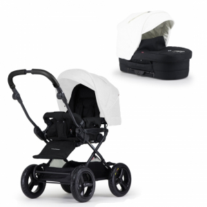 Crescent Comfort Duo Black/White