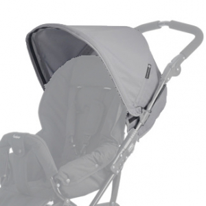 Ekstra Kalesje til Emmaljunga Scooter 3 - Light Grey