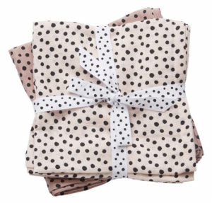 Done by Deer Swaddle Teppe Happy Dots Powder, 2-pack