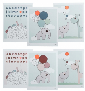 Done by Deer Poster Doble sider 3 st
