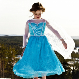 Den Goda Fen Kjole Ice Princess Xtra Small