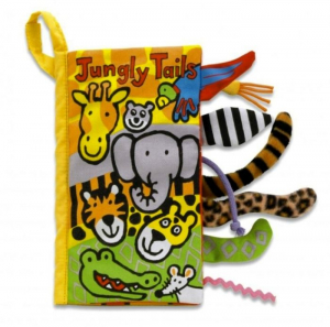 Jellycat Raslebok Jungle Tails