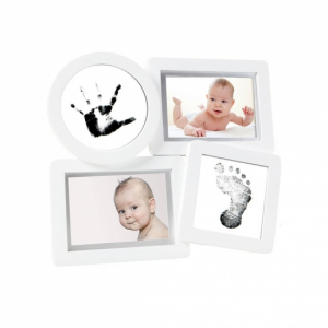 Pearhead Babyprints Ramme Collage Hvit