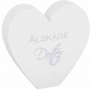Different Design Skilt Elsket Datter