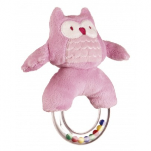Kids Concept Ringrangle Pumpkin Ugle Rosa
