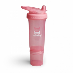 Herobility Vannflaske Sport Bottle Bubble Pink 300 ml