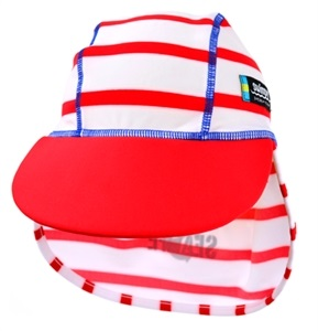 Swimpy UV-Hatt Sealife Rød