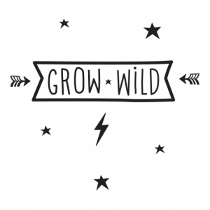 A Little Lovely Company Wallsticker Grow Wild