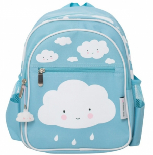 A Little Lovely Company Ryggsekk Cloud Blue