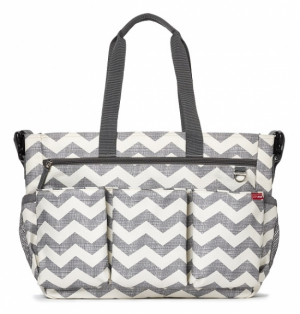 Skip Hop Duo Double Signature Chevron