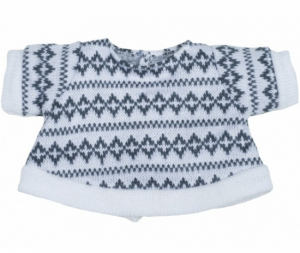 Rubens Barn Dukkeklær Kids Grey Jumper