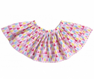 Rubens Barn Dukkeklær Kids Geometric Skirt