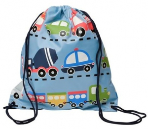 Bobble Art Traffic String Bag