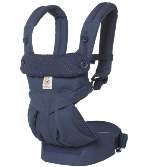 Ergobaby Bæresele 360 Navy Mini Dots