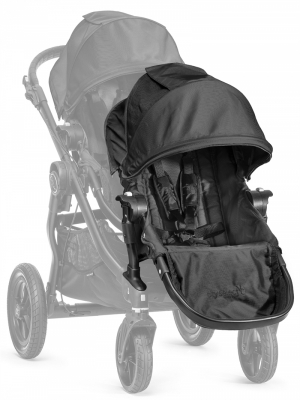 Baby Jogger City Select Søskensete Black