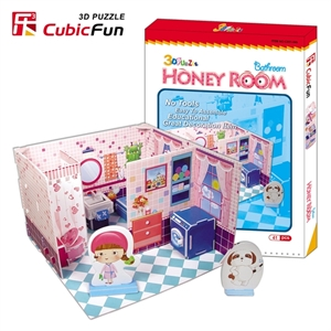 Cubic Fun Honey Room Bathroom, 41 Deler