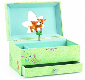 Djeco Smykkeskrin Music Box Fawn