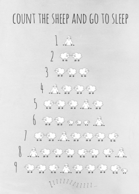 Frank & Poppy Poster 30x40 Sheep