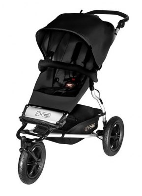 Mountain Buggy Evolution Urban Jungle Black