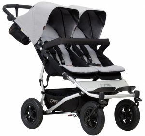 Mountain Buggy Duet V3 Silver